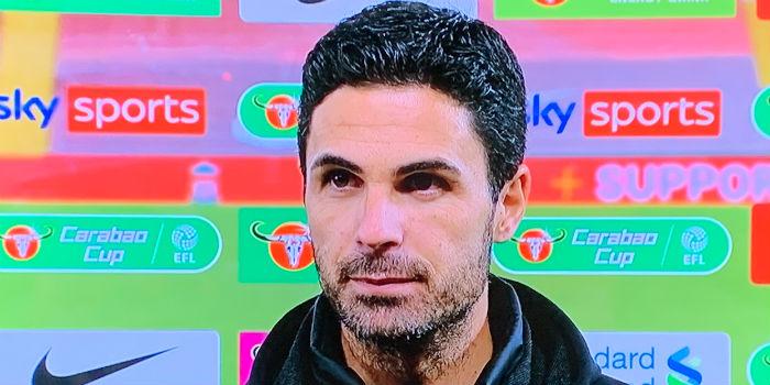 Arteta: This is a big step for the team